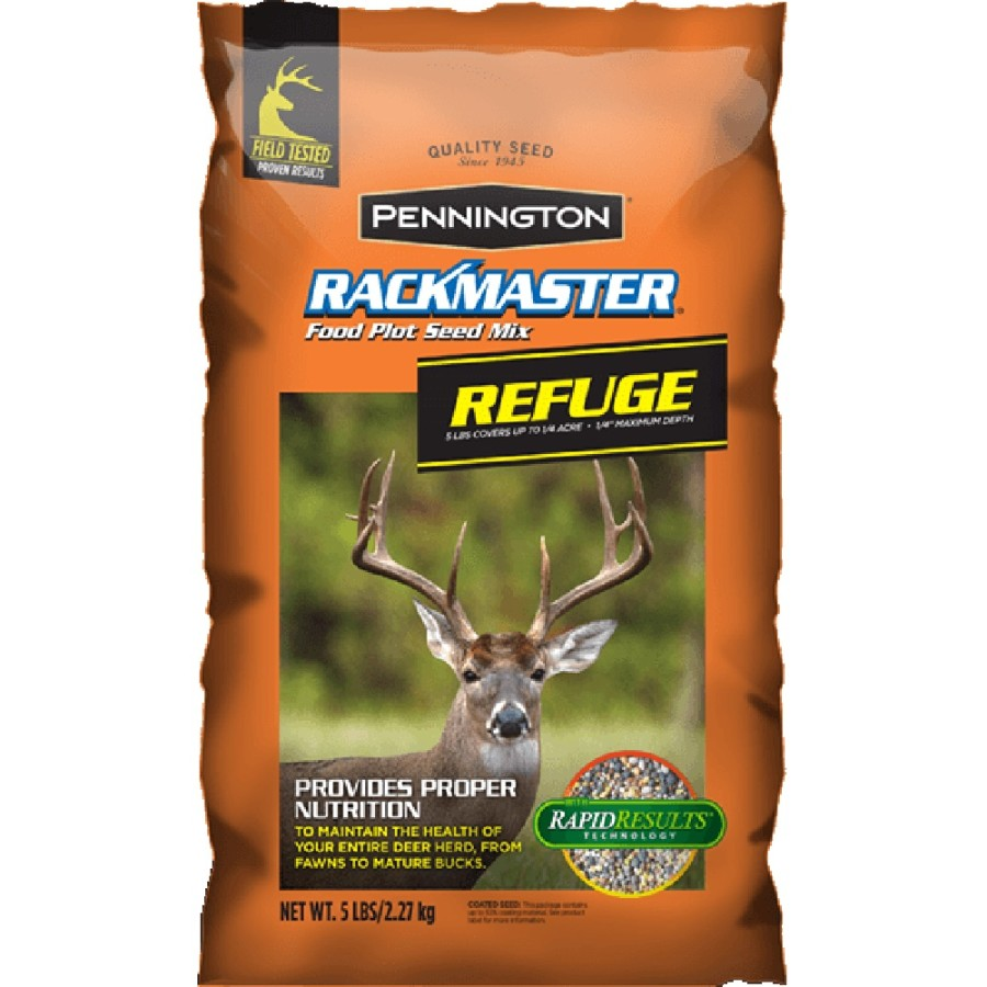 Pennington Rackmaster Refuge Food Plot Seed Mix 6ea/5 lb