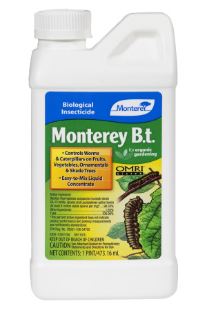 Monterey B.T. Biological Insecticide Concentrate Organic 12ea/16 oz