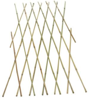Bond Expandable Bamboo Fence Tan 6ea/4Ftx6 ft