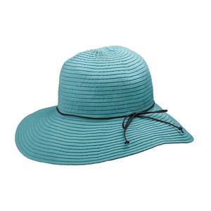 Goldcoast Sunwear Womens Hillary Hat Teal 6ea/Adjustable