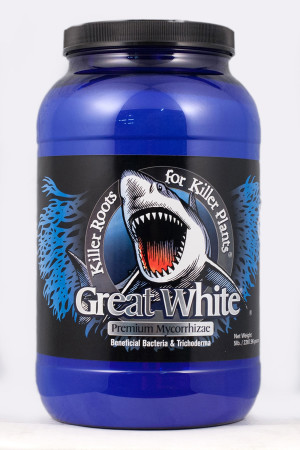 Plant Revolution Great White Mycorrhizae with Beneficial Bacteria 1ea/5 lb