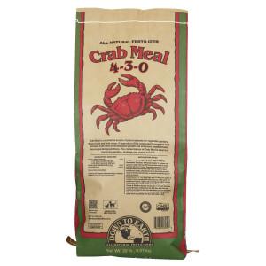Down To Earth Crab Meal Natural Fertilizer 4-3-0 OMRI 1ea/20 lb