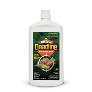 Deadline Force II Slug & Snail Killer Bait Liquid 12ea/32 oz