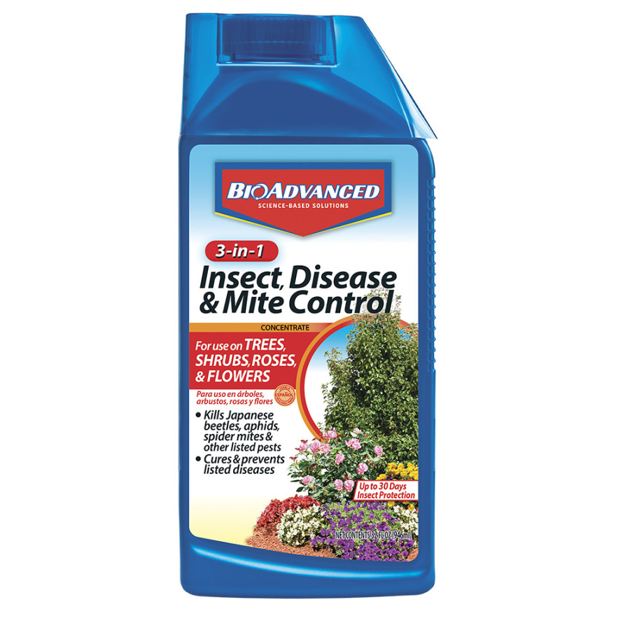 BioAdvanced 3-in-1 Insect, Disease & Mite Control Imidacloprid 8ea/32 fl oz