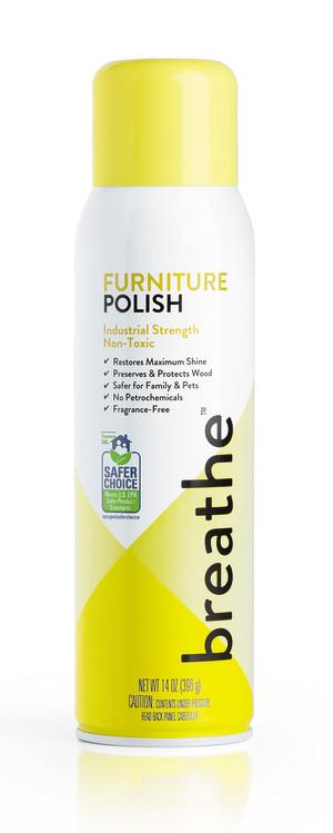Breathe Furniture Polish Cleaner 6ea/14 oz