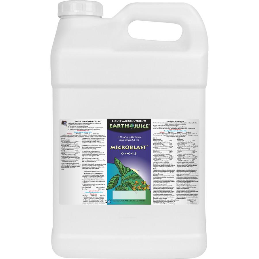 Earth Juice MicroBlast Liquid Micronutrients 2ea/2.5 gal