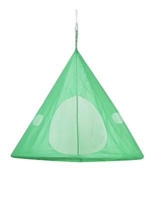 FlowerHouse TearDrop Hanging Chair Light Green 1ea/60Inx60 in
