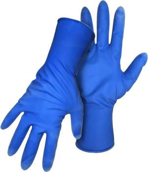 Boss Mighty Disposable 15Mil No Powder Latex Glove 50 Per Box Blue 1ea/Large