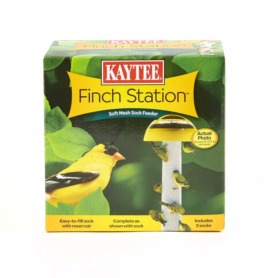 Kaytee Finch Station 2™ Soft Mesh Sock Feeder 6ea/2 Socks