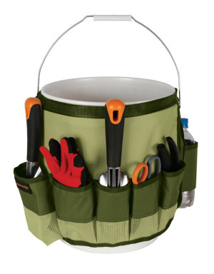 Fiskars Garden Bucket Caddy Green 6ea