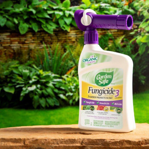 Garden Safe Fungicide 3-in-1 Ready To Spray 4ea/28 fl oz