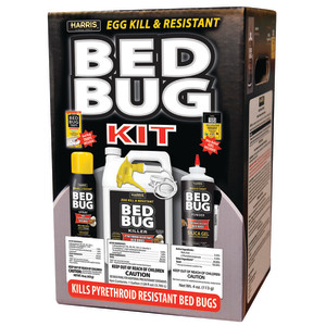 Harris Bed Bug Kit Egg Kill and Pyrethroid-Resistant Value Pack 4ea