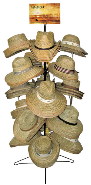 Goldcoast Sunwear Rush Hat Sun Protection II Assorted Display Assorted 1ea/One Size