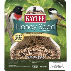 Kaytee Honey Bird Seed Treat Bell 6ea/1 lb