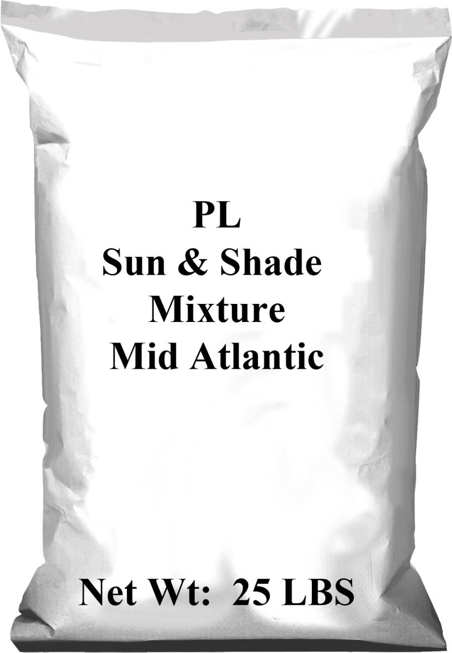 Pennington PL Sun & Shade Mixture Mid Atlantic 1ea/25 lb