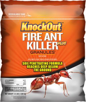 Knockout Fire Ant Killer Plus Granules 110ea/3.5 lb