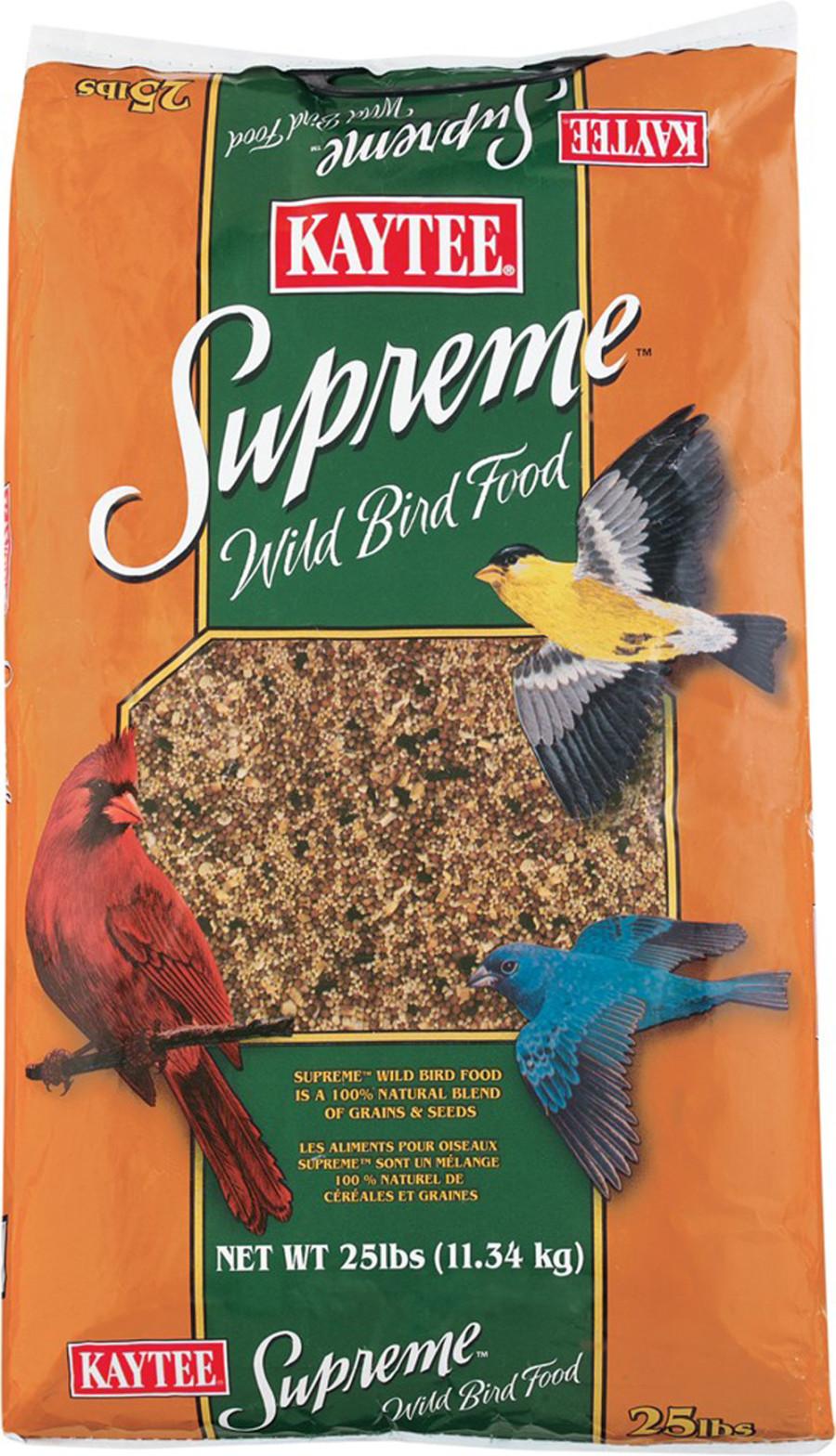 Kaytee Supreme Wild Bird Food 1ea/25 lb