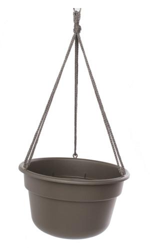 Bloem Dura Cotta Hanging Basket Planter Peppercorn 12ea/12 in