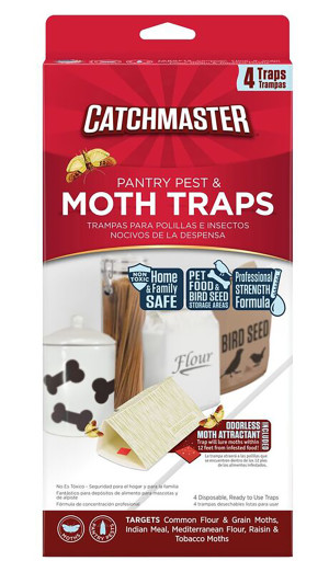 Catchmaster Pantry Pest & Moth Traps with Attractant