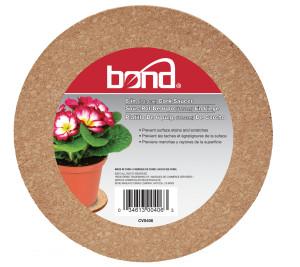 Bond Cork Saucers Brown 12ea/6 in