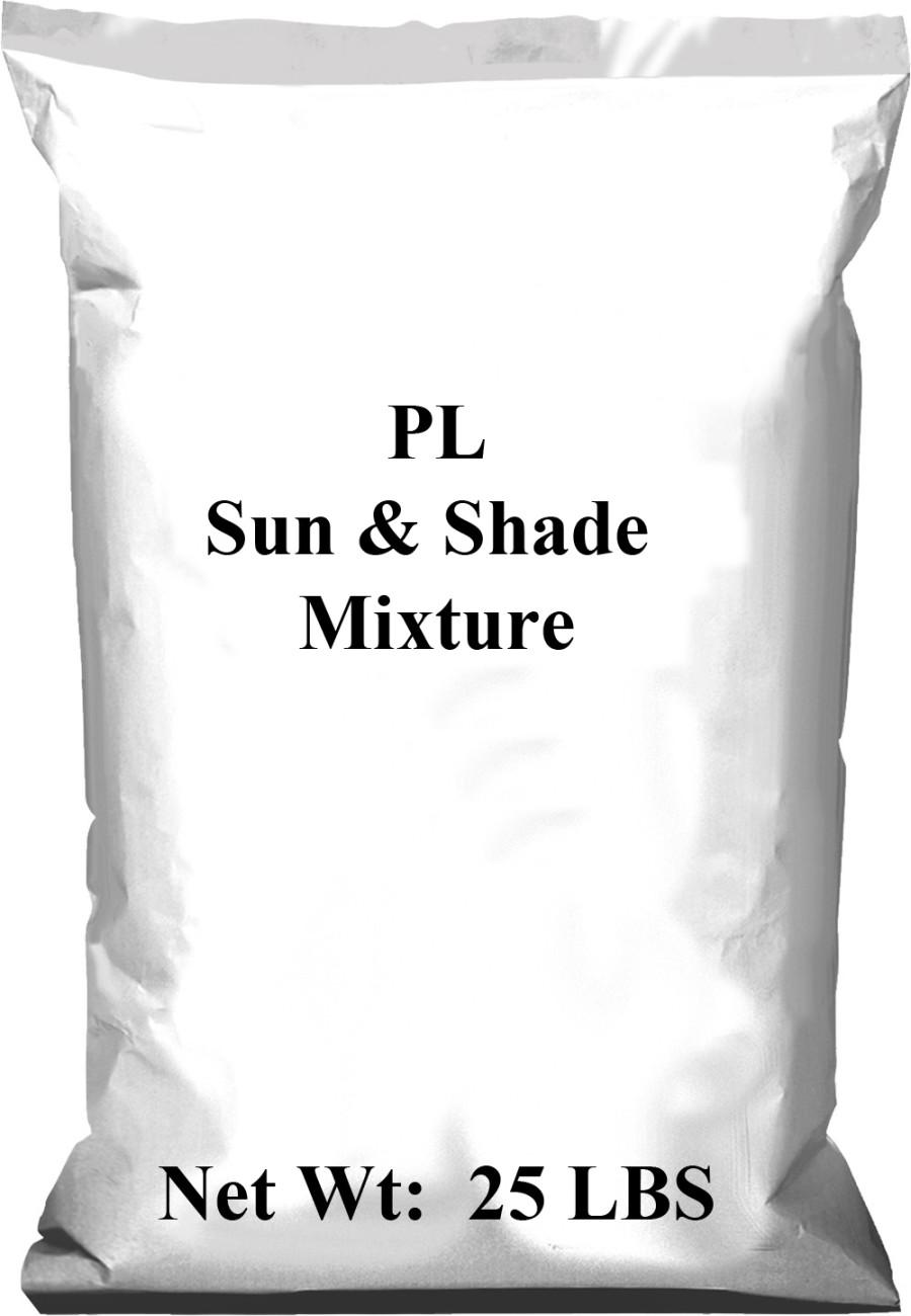 Pennington PL Sun & Shade Mixture 1ea/25 lb
