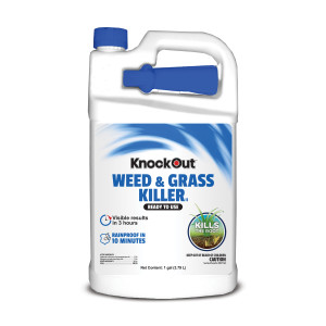 Knockout Weed and Grass Killer 2Gly/2Pel Ready to Use 4ea/4/Gal