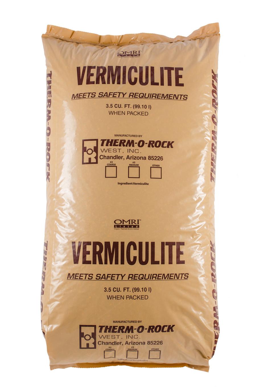 Therm-O-Rock Vermiculite Organic 3 Medium 1ea/3.5Cuft