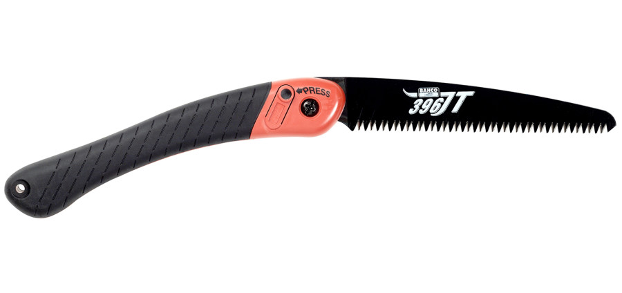 Bahco Folding Pruning Saw JT Toothing 4ea/7-1/2 in