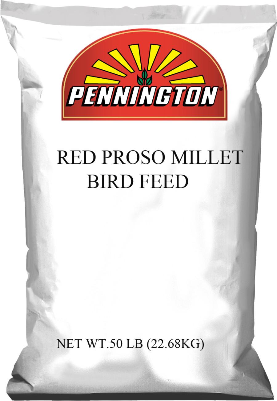 Pennington Red Proso Millet Bird Food 1ea/50 lb