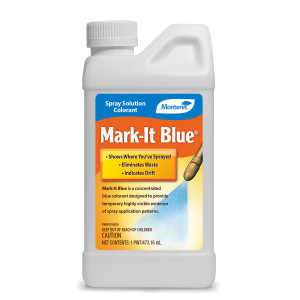Monterey Mark-It Blue Spray Solution Colorant Blue 12ea/16 oz