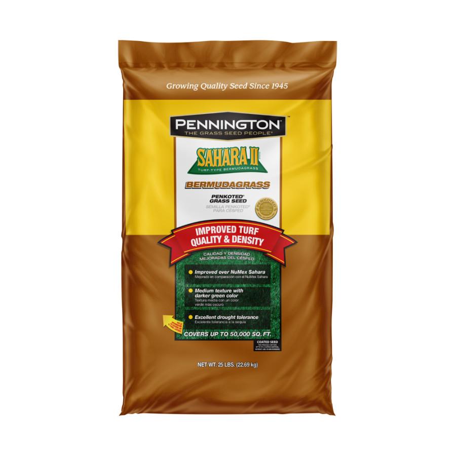 Pennington Sahara II Bermudagrass Penkoted Seed Hulled 1ea/25 lb
