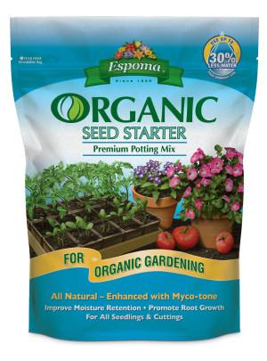 Espoma Organic Seed Starter Premium Potting Mix 6ea/2 gal