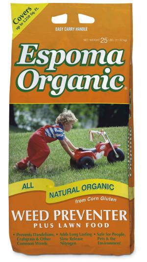 Espoma Organic® Weed Preventer Plus Lawn Food 9-0-0 1ea/25 lb