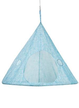 FlowerHouse TearDrop Hanging Chair Cloud Blue 1ea/60Inx60 in