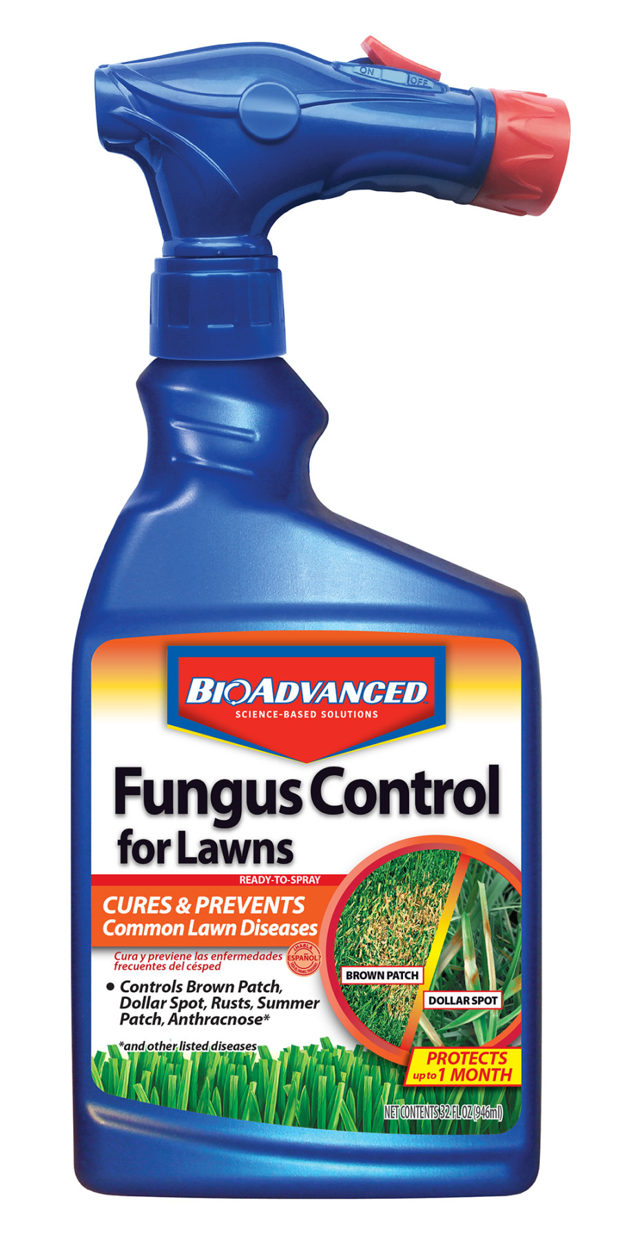 BioAdvanced Fungus Control For Lawns Ready To Spray 8ea/32 fl oz