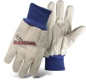 Boss Walloper Cotton Flannel Glove White 12ea/Jumbo