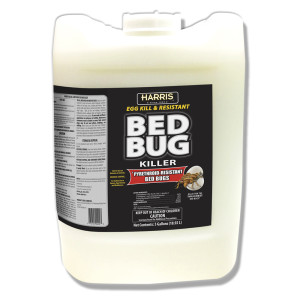 Harris Bed Bug Killer Egg Kill and Pyrethroid-Resistant 1ea/5 gal