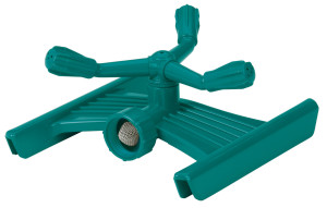 Gilmour Whirling Circular Sprinkler 3-Arm Poly Green 4ea/Small