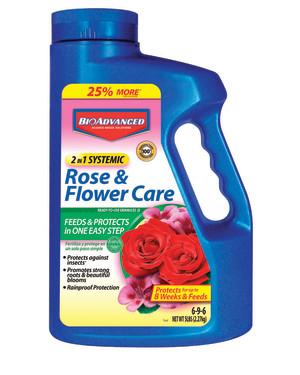 BioAdvanced 2-in-1 Rose & Flower Care Granules 6-9-6