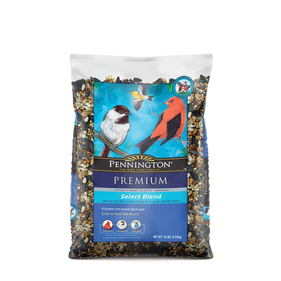 Pennington Premium Select Blend Bird Food 3ea/20 lb