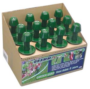 Dramm ColorStorm™ Garden Gard Hose Guide Display Box Green 12ea