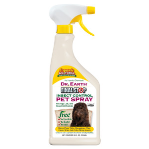 Dr. Earth Final Stop Insect Control Pet Spray 12ea/24 oz