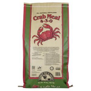 Down To Earth Crab Meal Natural Fertilizer 4-3-0 OMRI 1ea/40 lb