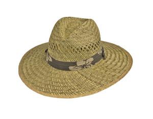 Goldcoast Sunwear Rush Lifeguard Tropical Hat Natural Natural 6ea/One Size
