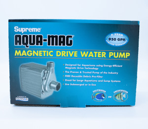 Danner Supreme Aqua-Mag Magnetic Drive Water Pump Black 2ea/10Ft Cord 950 GPH