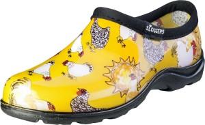 Sloggers Women's Waterproof Comfort Shoes Chicken Daffodil Yellow 1ea/Size 10