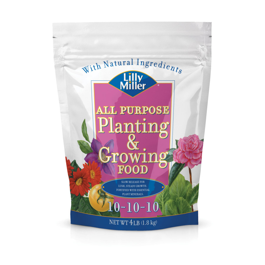 Lilly Miller All Purpose Planting & Growing Fertilizer 10-10-10 12ea/4 lb
