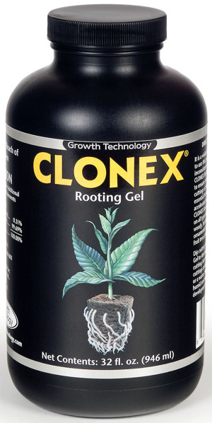 Hydrodynamics Clonex Rooting Gel 4ea/32 fl oz