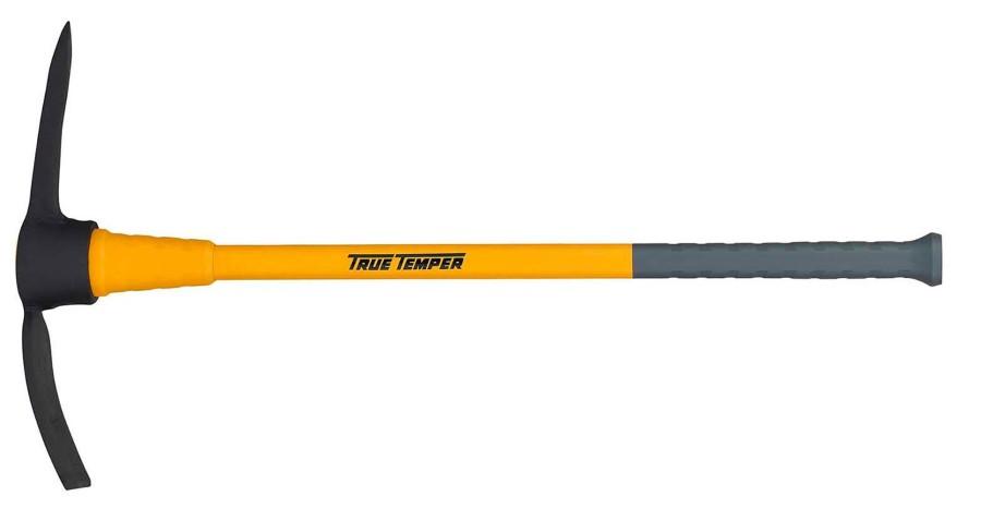 Ames True Temper Toughstrike Pick Mattock with Fiberglass Handle Yellow 3ea/5 lb