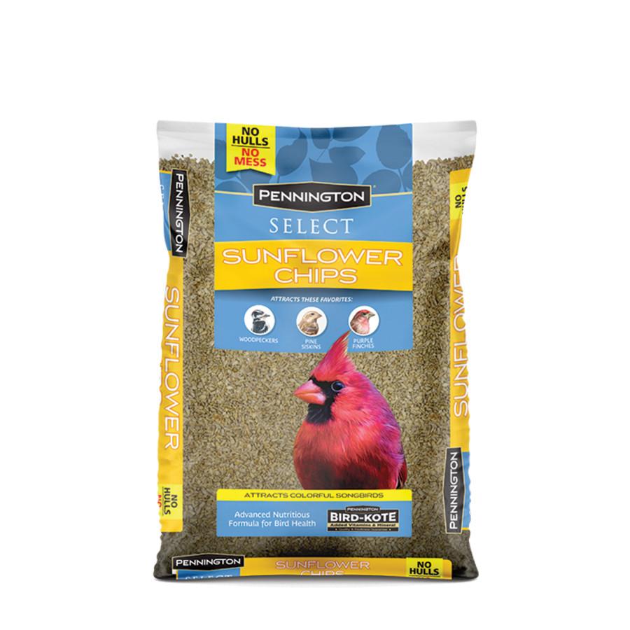 Pennington Premium Sunflower Chips Bird Food 10ea/5.5 lb